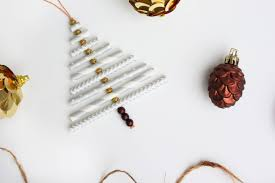 Homemade Christmas Decorations by Diy Christmas Ornament Tutorial Using Paper Straws