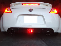 nissan 370z used india amazon com ijdmtoy jdm style rear fog light led assembly for 2009