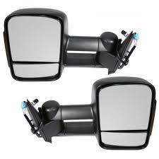 amazon com towing mirrors 2003 2007 chevy gmc silverado sierra