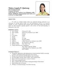 Resume Format Nursing Job by Summary For Resume Nursing 25 Best Images About Personal Resume