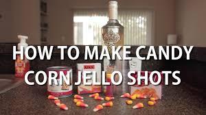 halloween candy corn jello shots youtube
