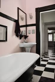 Black And White Small Bathroom Ideas Before U0026 After All Hail The Pink Bathroom Design Sponge