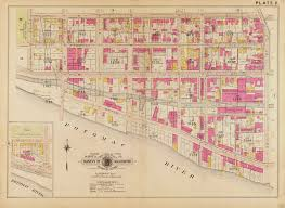 Washington Traffic Map by Old Survey Maps Show Georgetown Around 1903 U2013 Greater Greater