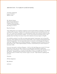 Example Of Cover Letter For Job Application  sample cover letter