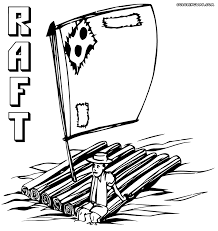 raft coloring pages coloring pages to download and print