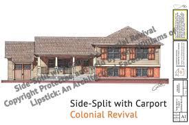 house with carport side split with carport u2013 jw lipstick designs