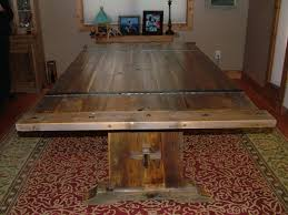 Hand Crafted Barnwood Dining Table By Bluebuck Woodworking - Barnwood kitchen table