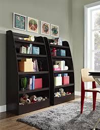 4 Shelf Bookcase White by Amazon Com Cosco Hazel Kids 4 Shelf Bookcase Espresso Kitchen