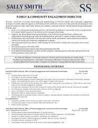 Director Of Operations Resume Sample by Resume Sample Director Of Community Involvement