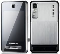 Samsung F480 Silver