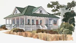 Hip Roof Ranch House Plans Low Country House Plans And Tidewater Designs At Builderhouseplans Com