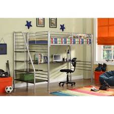 Bunk  Loft Beds With Stairs Wayfair - Kids bunk bed with desk