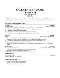 Sample Resume For Customer Service Representative Telecommunications by Sample Resume For Customer Service Representative Call Center