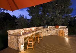outdoor kitchen designs metal chrome dining chairs orange bar