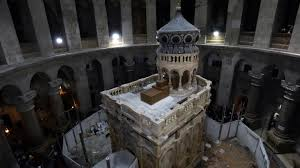 Jesus     s tomb restored after months of work     Features     Breaking