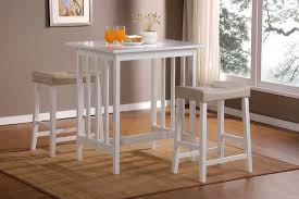 Kitchen Table Bar Style Kitchen Fancy Table Set For Kitchens With Metallic Chairs And