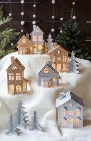 Diy Christmas Home Decor Best 25 Christmas Houses Ideas On Pinterest Glitter Houses
