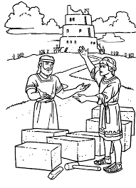 great tower of babel coloring page 68 for your coloring pages for