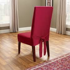 classic slipcovers cotton duck long dining chair cover hayneedle