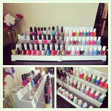diy nail polish rack and my nail polish storage polishedbits
