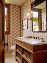 Powder Room Door Summer Trend 25 Dashing Powder Rooms With Tropical Flair
