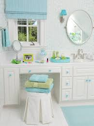 Bathroom Vanity San Francisco by Turquoise And White Teen Bathroom This Fun And Functional Bathroom