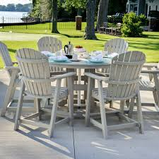 Patio Furniture Counter Height Table Sets - trying bar height patio table and chairs at home
