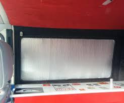 camper van thermal window blinds 3 steps