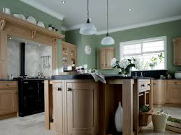 Gray Floors What Color Walls by Gray Wall Color Plus Light Brown Wooden Kitchen Cabinet Also