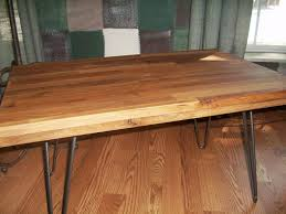 Dining Room Tables Seattle Butcher Block Table To Match With Your Laminate Flooring