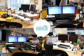 varidesk and the health benefits of standing desks blue rock