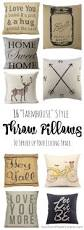 16 farmhouse pillows to spruce up your decor farmhouse style