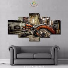 online get cheap wall art motorcycle aliexpress com alibaba group