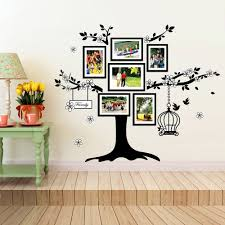 huge family tree photo frames birdcage wall sticker this huge family tree photo frames birdcage wall sticker this product can be attached