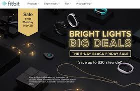 black friday fitbit black friday u0026 cyber monday deals 2016 smartwatch deals