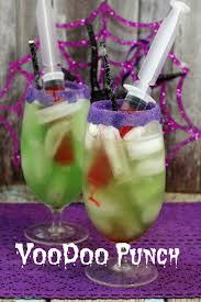 voodoo punch perfect halloween party drink halloween party