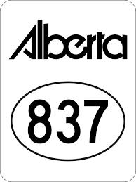 Alberta Highway 837