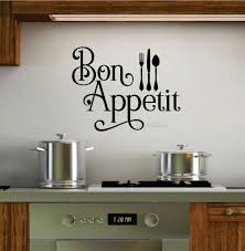 bon appetit decal kitchen wall decal gourmet kitchen french zoom