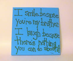 brother quote canvas art gift for brother 12x12 canvas quote