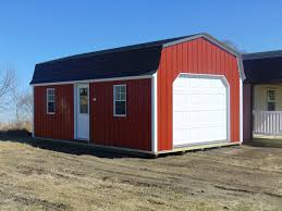 gambrel lofted garages midwest storage barns gambrel lofted garage