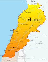 Jordan Country Map Map Of Jordan Lebanon And Israel My Blog