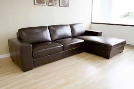 Most Comfortable Sectional by Brown Leather Sofa White Walls Living Room Ideas Cozy Home Design