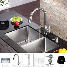 kitchen sinks kitchen sink soap dispenser black vessel faucet