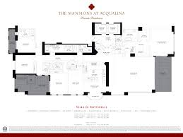 Floor Plans For Mansions Mansions At Acqualina Luxury Condo For Sale Rent Floor Plans Sold