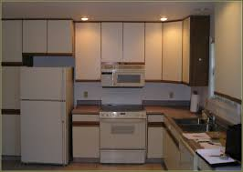 How To Paint Veneer Kitchen Cabinets Beautiful Painting Particle Board Kitchen Cabinets Also Best Ideas