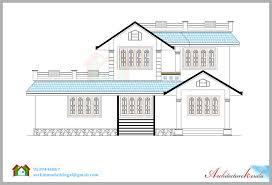Elevation Symbol On Floor Plan Beautiful House Elevation With Its Floor Plan