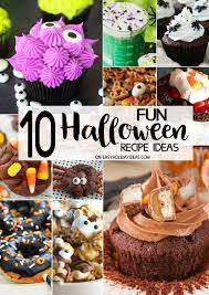 10 fun halloween recipe ideas easy holiday ideas