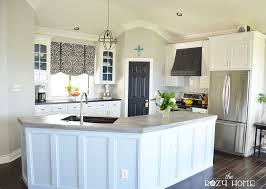 How To Paint Kitchen Cabinets Like A Pro Remodelaholic Diy Refinished And Painted Cabinet Reviews