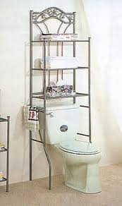 Over The Toilet Ladder Stressless Mess Less Bathroom Organizing