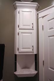 bathroom ideas bathroom corner cabinet with rectangular cabinet